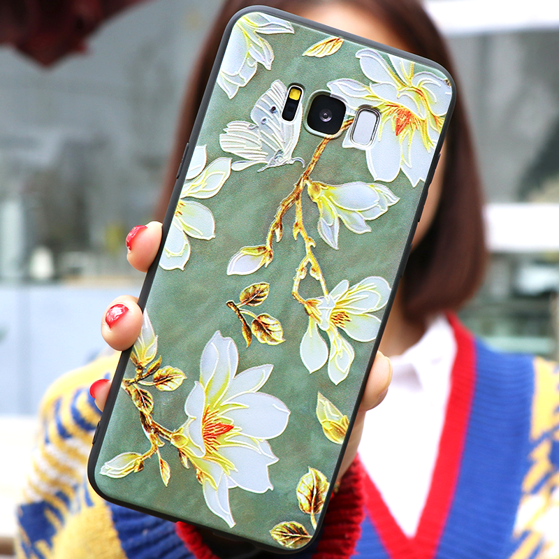 3D โล่งอก Rose สำหรับ Samsung Galaxy A7 2018 A5 A6 J4 J6 Plus J5 J7 Prime S6 S7 Edge s9 S8 Plus TPU Capa สำหรับ Samsung S10 ฝาครอบ
