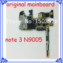 DHL/EMS free shipping LTE motherboard for samsung Note 3 n9005 32GB original mainboard Europe version Android system Logic board