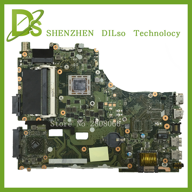 SHUOHU X550ZE For ASUS VM590Z X550ZE X550ZA laptop motherboard X550ZE AMD mainboard rev2.0  Integrated 100% tested