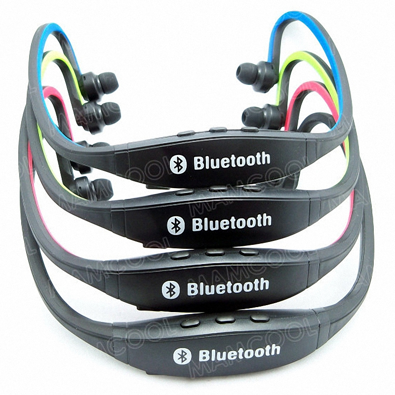2 Pieces Sports V3.0 Wireless Headphone Stereo Bluetooth Headset Earphone with Microphone for Iphone Ipod Mobile Phone PC TV rock y10 stereo headphone earphone microphone stereo bass wired headset for music computer game with mic