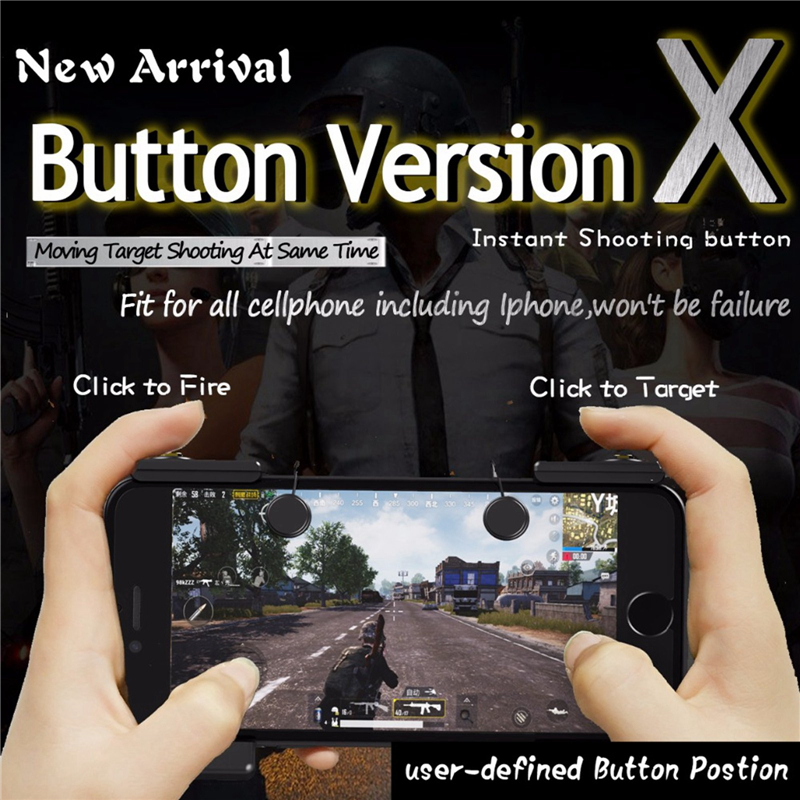 Arbitrary Placement L1R1 Shooter Trigger Fire Button For Pubg Games Pubg Mobile Game Con ...
