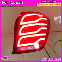 лучшая цена Car Styling for Chevroleti cobalt Taillights 2001-2017 New cobalt  LED Tail Lamp Rear Lamp DRL+Brake+Park+dynamic turn Signal