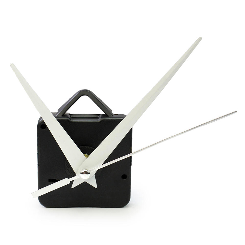 DIY Clock Black Quartz Watch Wall Clock Movement Mechanism Parts Repair Replacement Essential Accessories