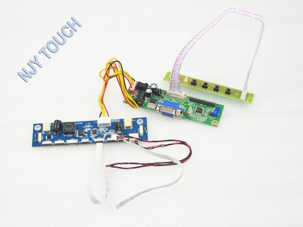 V.M70A VGA Universal LCD Controller Board DIY Kit For M220Z3-LA1 M220Z3 LA3 22 inch 1680x1050 LED 7083K-F12N-00L LVDS TFT LCD 31x12x3 inch universal turbo fmic intercooler 3 inch piping kit toyota supra mkiii mk3 7mgte