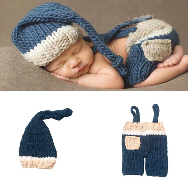 Baby Suit European And American Style Photography Props Knitting