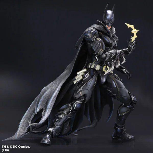 MODEL FANS <font><b>The</b></font> <font><b>Dark</b></font> <font><b>Knight</b></font> <font><b>Batman</b></font> PLAY ARTS KAI <font><b>Batman</b></font> Blue Black Limited Edition PVC <font><b>Action</b></font> Figure <font><b>Collectible</b></font> Model Kids Toys