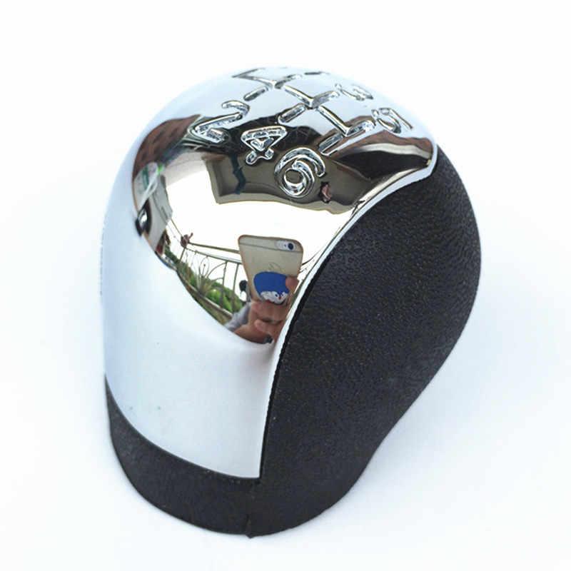 Cromado abs botão de câmbio da velocidade 5/6, cromado para vauxhall opel vectra c b corsa astra g assinar combo 2002 2003 2004 2005