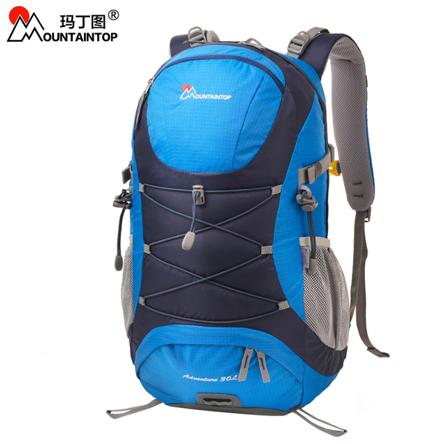 30l external frame lightweight hiking climbing bags terylene material unisex travel camping outdoor sport excursion backpacks - External Frame Hiking Backpack
