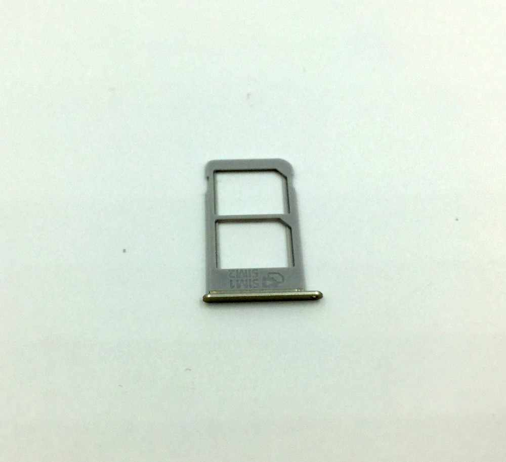 Asli Baru SIM Pemegang Adaptor untuk Samsung Galaxy Note 5 N920 Single/Dual Sim Card Reader Tray Pemegang slot