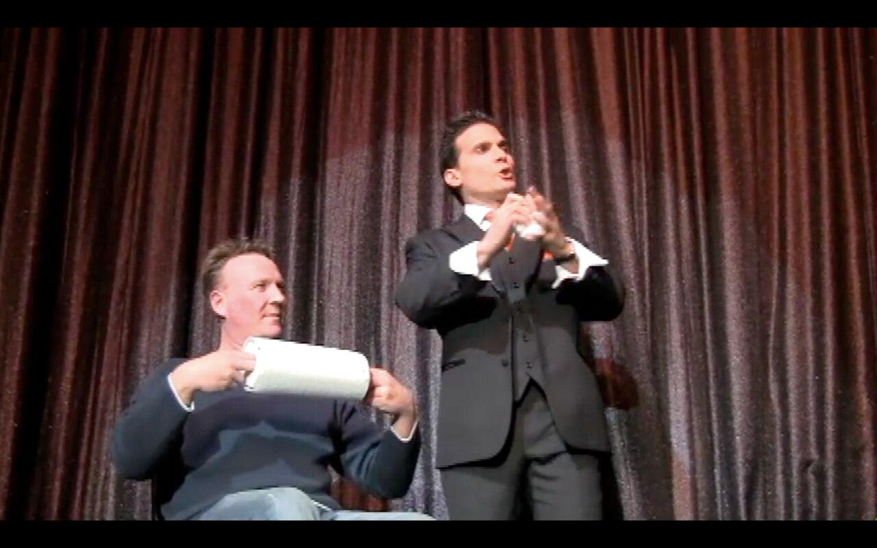 Paper Balls Over The Head By Tony Clark,Magic Tricks