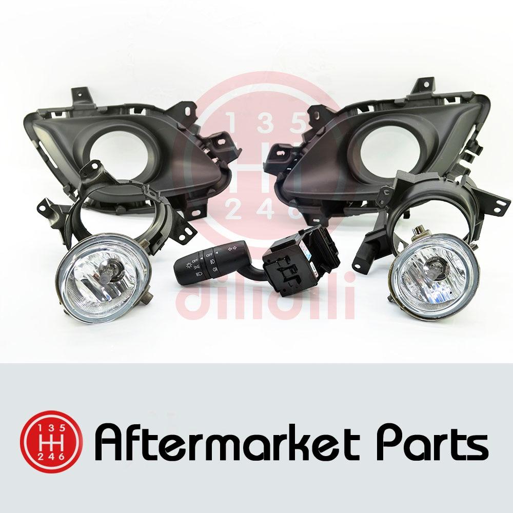 Противотуманные фары галогенные лампы Комплект для Mazda 6 Mazda6 открыт 2014-2015 без авто