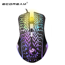 Новые 2400 ТОЧЕК/ДЮЙМ 3D Мышь USB Gaming Mouse Мыши 2.4 ГГц Компьютерная Мышь для Ноутбука Notebook Optical Mouse 2016 ECDREAM продукт