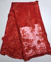 New Guipure African Lace Fabric High Quality French Applique Nigerian Lace Fabrics For Wedding 2017 Sewing