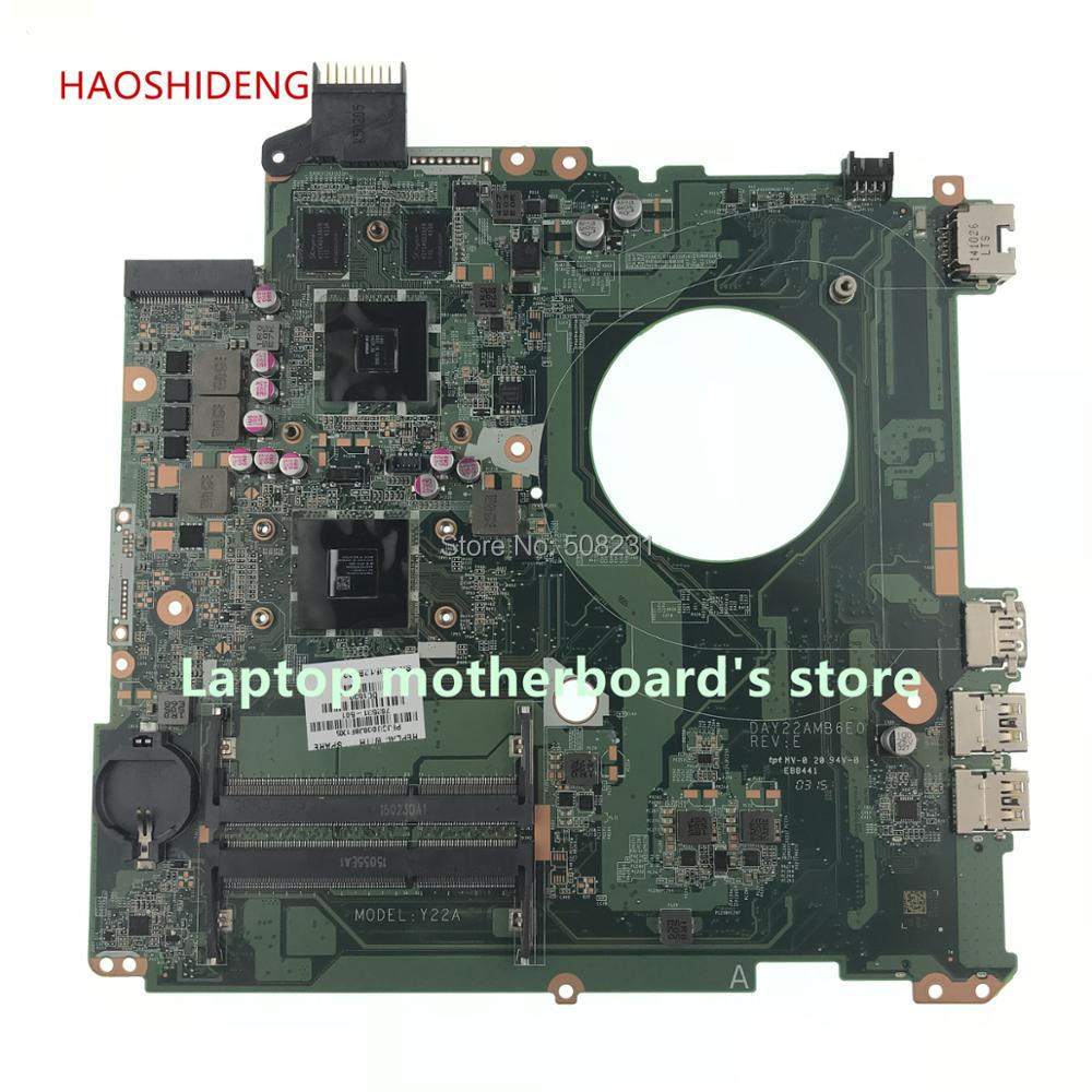 HAOSHIDENG 762531-001 762531-501 mainboard For HP Pavilion 15-p Laptop Motherboard DAY22AMB6E0 M260 A8-6410 2G fully Tested original 762531 501 for hp pavilion 15 p series laptop motherboard day22amb6e0 rev e a8 6410 2g 100