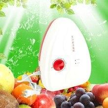 Портативный озонатор Генератор Озона Стерилизатор очиститель Воздуха Для Очистки Фруктов и Овощей воды озонатор ионизатор VBU14 T20 0.5