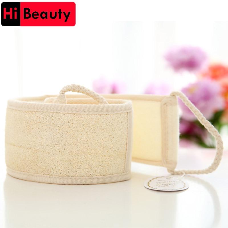 Health & Beauty Organic Natural Body Scrubber Spa Sponge Square Loofah Exfoliating Travel Inventive 1 Pcs Bath & Body