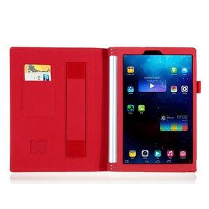 Роскошный кожаный флип-чехол для планшета Lenovo yoga 2 1050 1050F 1051F 1050L 10,1 дюйма, защитный чехол с держателем для рук
