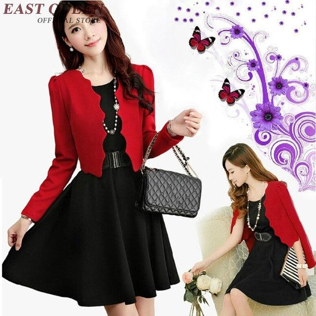 Office Uniform Designs Women Dress Suit Blazer With Dress Office