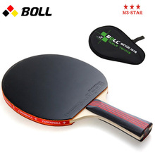 Quality TIMO BOLL table tennis racket pat Original with racket bag PINGPONG paddle In penholder handshake