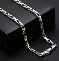men jewelry 925 sterling silver chocker necklace long necklaces chain gift man necklace 5mm
