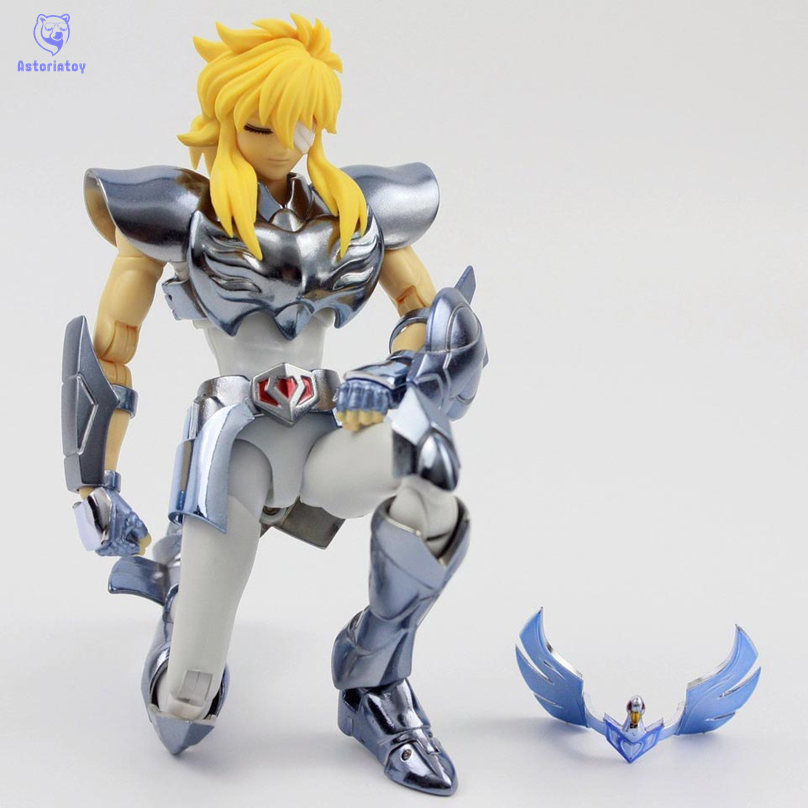 Great Toys PTC Saint Seiya Cloth Myth Ex Hyoga Cygnus V3 Action Figure in stock s temple metal club ex taurus aldebaran saint seiya myth cloth gold action figure