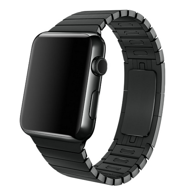 Free Shipping 316L Link Bracelet stainless steel Watchband For Apple watch Original 1 1 Watch Band