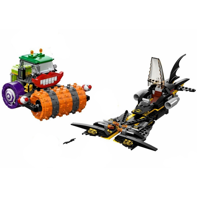 10228 Super Heroes Batman The Joker Steam Roller Building Blocks New Year Gift Toys For Children Compatible with Lepin lepin 02012 city deepwater exploration vessel 60095 building blocks policeman toys children compatible with lego gift kid sets