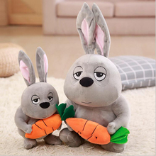 Creative Cute Rabbit Hold Carrot Plush Toys PP Cotton Stuffed Animal Doll Toy Children Kids Gift