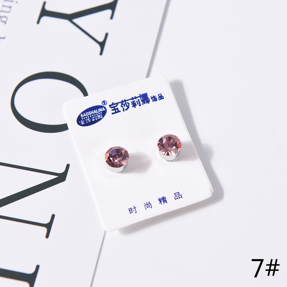US $0 54 16% OFF|Magnetic Therapy Weight Loss Earrings Magnet In Ear  Eyesight Slimming Healthy Stimulating Acupoints Stud Earring Bio 1 Pair-in