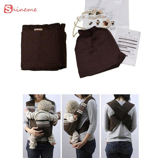 Новый 12 стили высокое качество малыш перевозчик Minizone X тип слинг регулируемая редукционный детей подтяжки рюкзак сумки