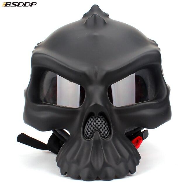 Skull Biker Helmet 6