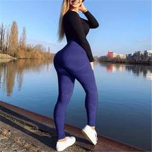 Yoga Pants Women High Waist Active Wear Sport Trousers Women Fitness Athletic Leggings Sports Tights 2018 Clothing