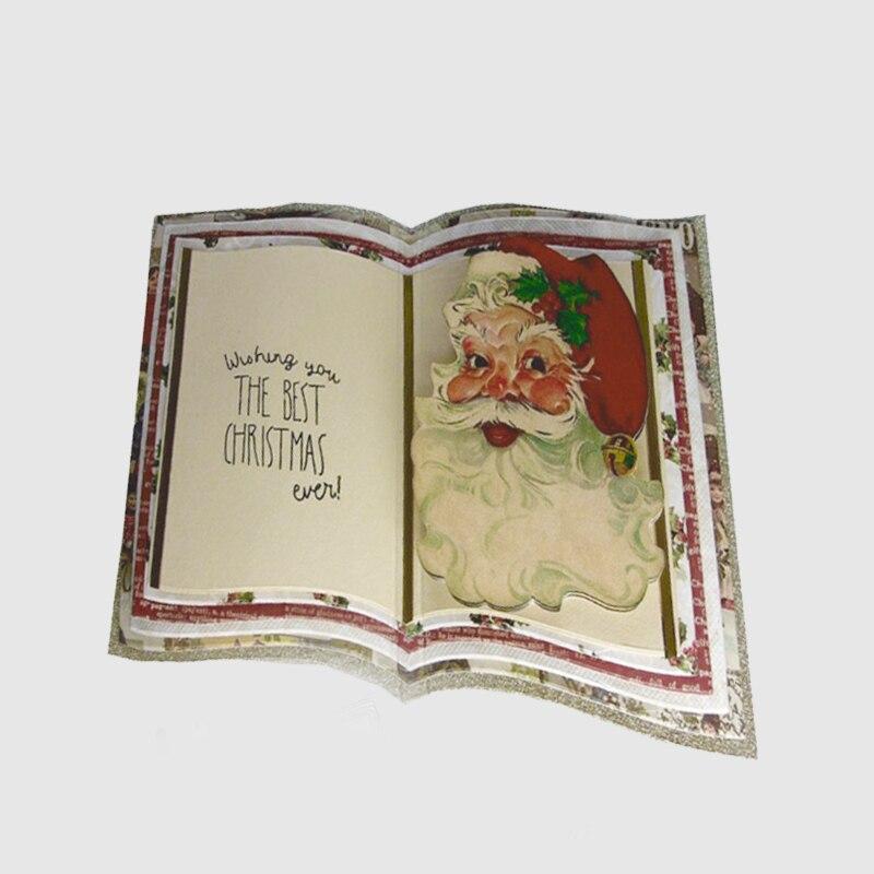 Book Pattern Metal Cutting Dies Stencils For DIY Scrapbooking Decorative Embossing Handcraft Die Cut Template 150 108mm in Cutting Dies from Home Garden