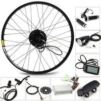 350W Electric Bike Kit for 26' 27.5' 29' Wheel Motor Kettle Battery LED LCD Ebike e bike Electric Bike Conversion g001