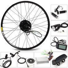 350 W электрический велосипед комплект для 26′ 27,5 '29' Мотор колеса Аккумулятор для чайника светодиодный ЖК-дисплей Ebike e велосипед электрический велосипед преобразования g001