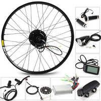 CASDONA 350W Electric Bike Kit for 26' 27.5' 29' Wheel Motor Kettle Battery LED LCD Ebike e bike Electric Bike Conversion g001