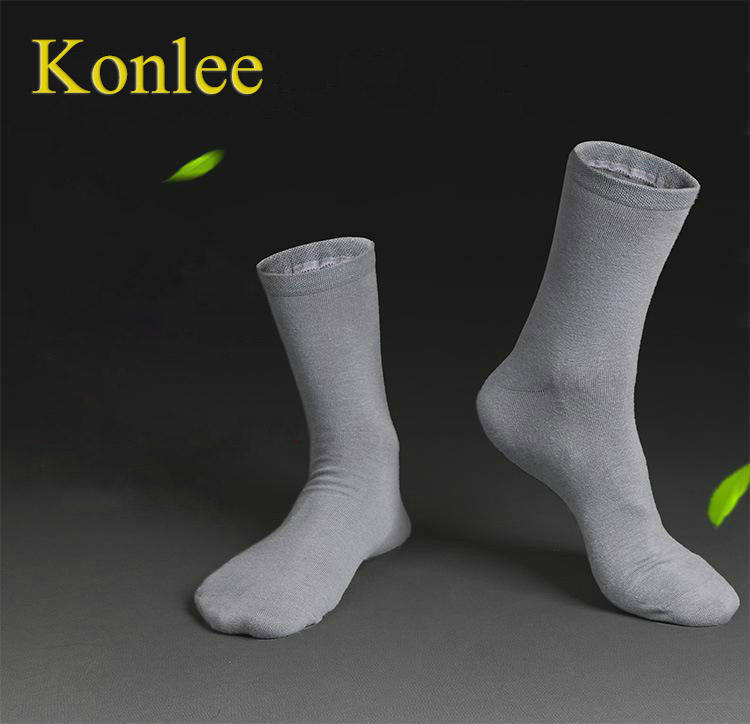 2018 Mens Business Cotton Socks Brand Spring Autumn White Black Socks Men Dress Solid Color Thin Socks Sox 5 Pairs/Lot BOC120