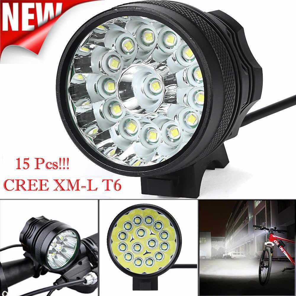 60000 Lm 16x XML T6 LED 3 Modes Bicycle Lamp Bike Light Headlight Cycling Torch