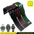 Alta qualidade genuína pulseira de couro fit para jeep diesel hamilton 20mm 22mm 24mm para o homem pulseiras de relógio acessórios banda + ferramentas