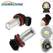 Car H8 H11 led 9005 hb3 9006 hb4 h4 h7 1156 1157 33SMD Fog Lamp Daytime Running Light  Bulb Turning Parking Bulb 12V 6000k White