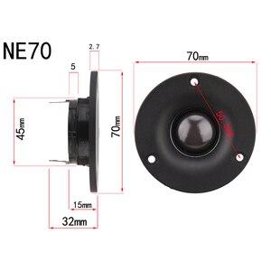 Image 3 - HIFIDIY חי 2.5 3 4.5 אינץ הטוויטר רמקול יחידה neodymium חזק מגנט משי קרום 6OHM 30W ATreble רמקול NE66/70/74/80