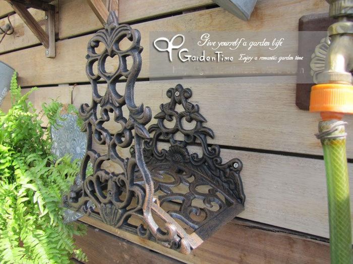 Garden Hose Rack Steel Hose Hanger Gardens Posts And
