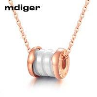 Mixed 4 PCS/LOT Fashion Titanium Pendant Roman Digital Necklace Steel Chain Ceramic Pendant Necklace Lovers Accessories