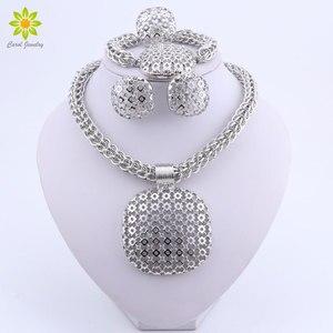 Dubai Silver Plated Jewelry Se
