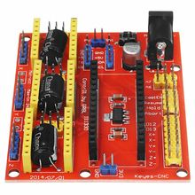 цена на Multicolor Resin CNC Shield V4 Expansion Board For arduIno Engraver Machine Driver 3D Printer