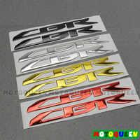 3D CBR HRC LOGO moto Chrome surélevé réservoir Pad autocollants autocollants emblème pour HONDA CBR 250RR 300R 400R 500R 600RR 650F 1000RR