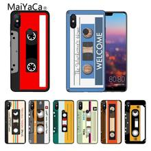 Classic retro cassette tape DIY Printing Drawing Phone Case cover For Xiaomi mi6 mi8 Redmi5 Redmi 5plus MIX2 MIX2S Max2 Max3(China)