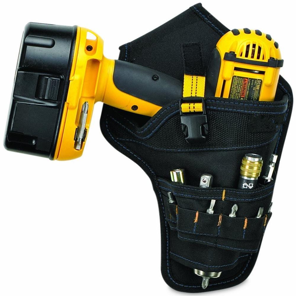 Portable Electrician Tool Waist Belt Pouch Bag Impact Driver Drill Holster  Electric Cordless Drill Holder Waist Tool Bag tool bag pouch bag bagbag waist  bag - AliExpress