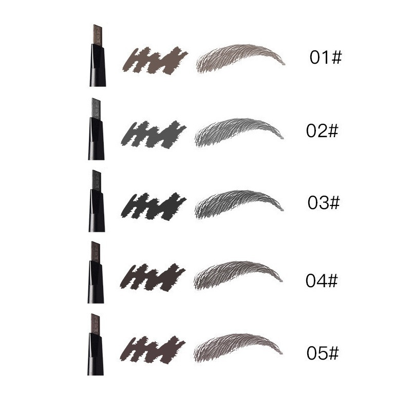 1PC Eyebrow Pencil Waterproof Automatic Eyebrow Pen Long lasting Makeup Beauty Tools 5 Color Eye Brow in Eyebrow Enhancers from Beauty Health