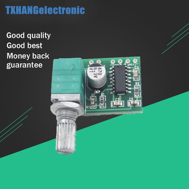 1pcs PAM8403 5V DC Audio Amplifier Board 2 Channel 2*3W Volume Control USB Power